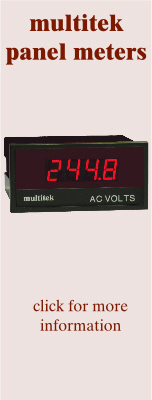 Multitek Panel Meters